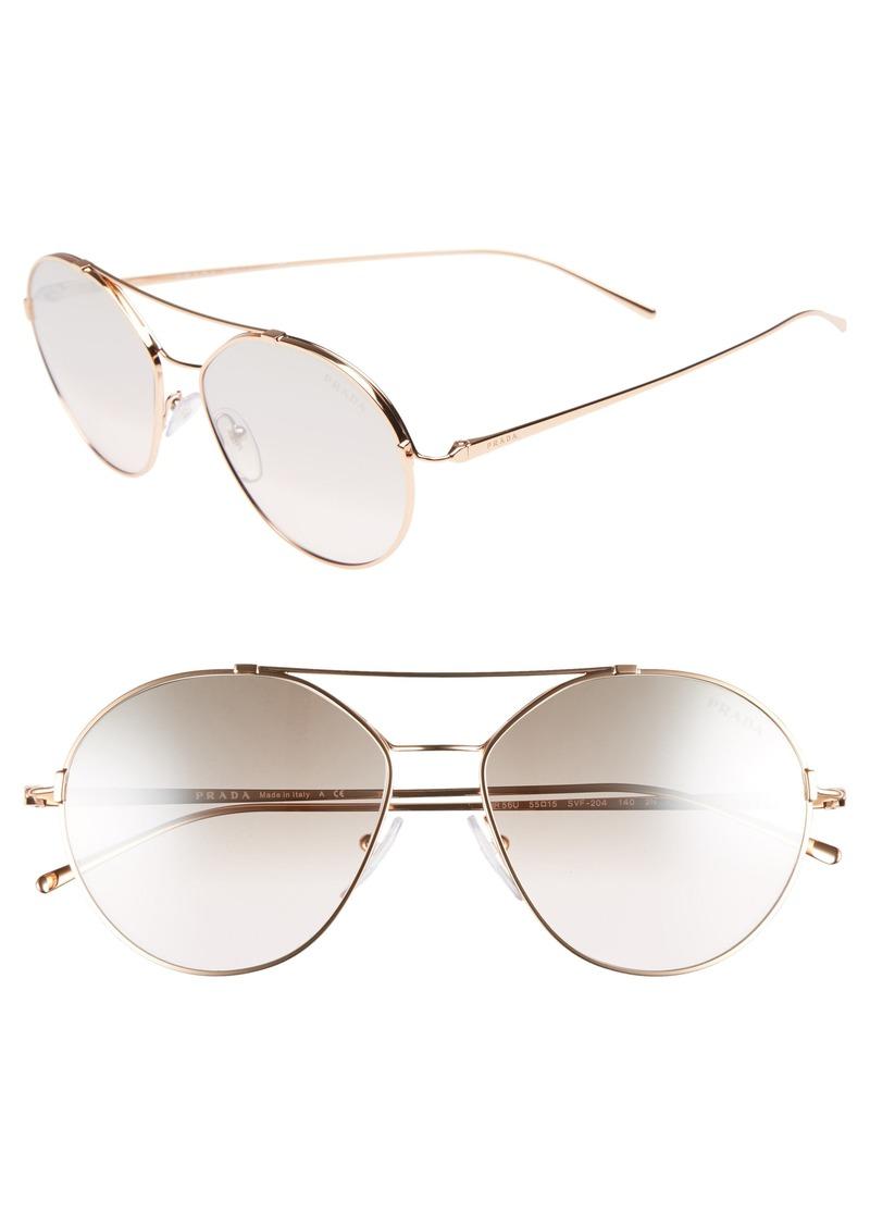 e255676cf6d Prada Prada Conceptual 55m Aviator Sunglasses