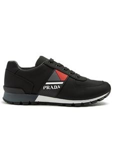 Prada Contrast-panel low-top trainers