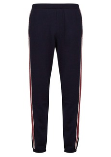 Prada Contrast stripe track pants