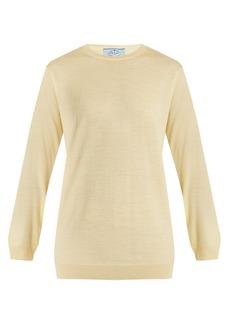 Prada Crew-neck wool-knit sweater