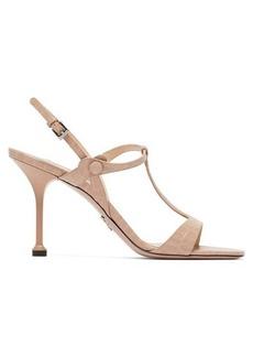 Prada Crocodile-effect leather sandals