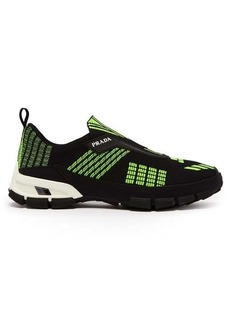 Prada Cross Action mesh trainers