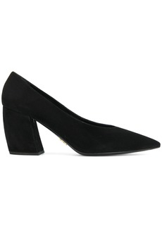 Prada curved heel pumps - Black