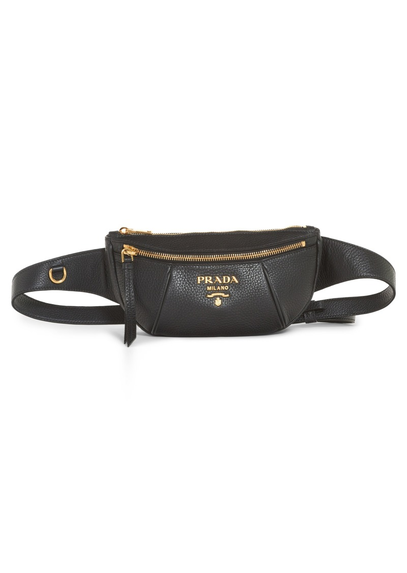 d63e62a51046 Prada Prada Daino Leather Belt Bag