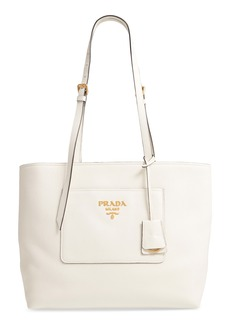 Prada Daino Leather Tote