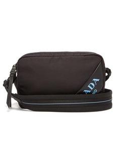 Prada Debossed-logo nylon cross-body bag