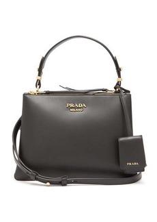 Prada Deux leather handbag
