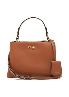 Prada Deux leather handbag