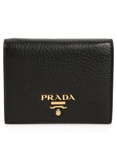 Prada Diano Leather Card Case