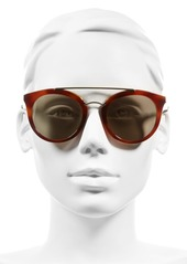 Prada Double Bridge 52mm Sunglasses