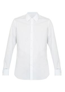 Prada Double-cuff cotton dinner shirt