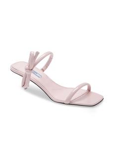 Prada Double Strap Bow Sandal (Women)