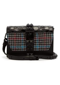 Prada Elektra studded leather cross-body bag