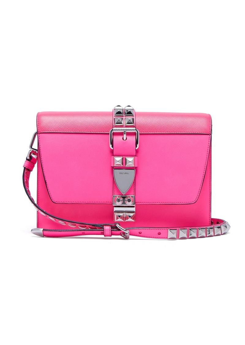 3019317bb1e8 Prada Prada Elektra studded leather shoulder bag Now $1,175.00