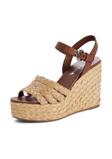 Prada Espadrille Wedge Sandal (Women)