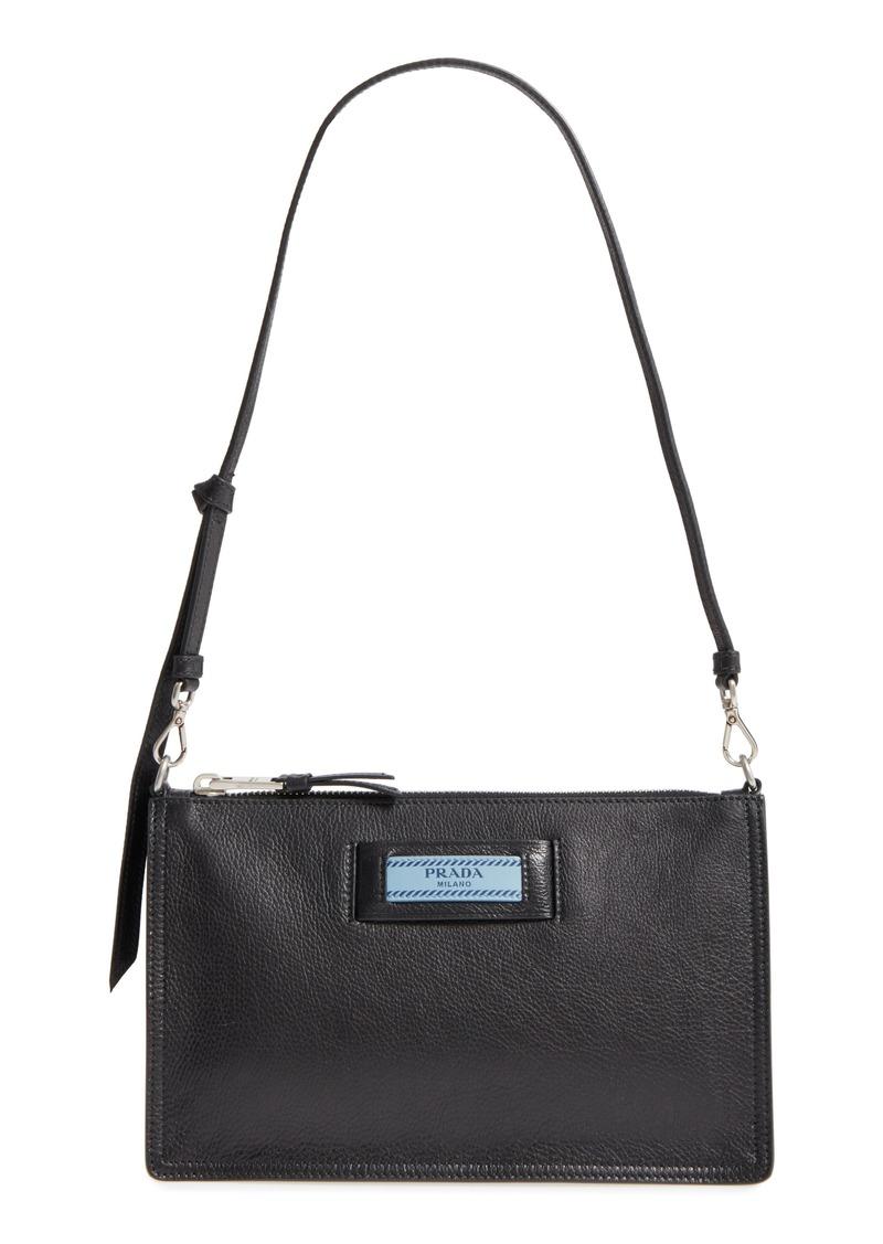 d7210d04dcfd ... store prada etiquette calfskin shoulder bag a1f18 381ec