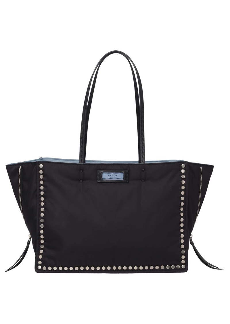 Prada Prada Etiquette Tessuto Nylon Tote   Handbags 7372d1ef01