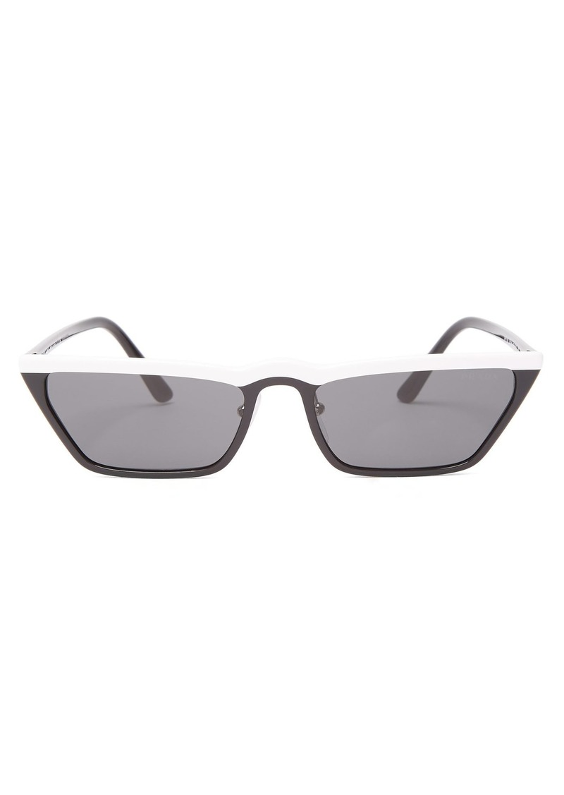 c8c58f12e688 Prada Prada Eyewear Cat-eye acetate sunglasses
