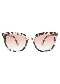Prada Eyewear D-frame tortoiseshell-acetate sunglasses