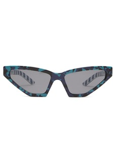 Prada Eyewear Disguise camouflage cat-eye acetate sunglasses
