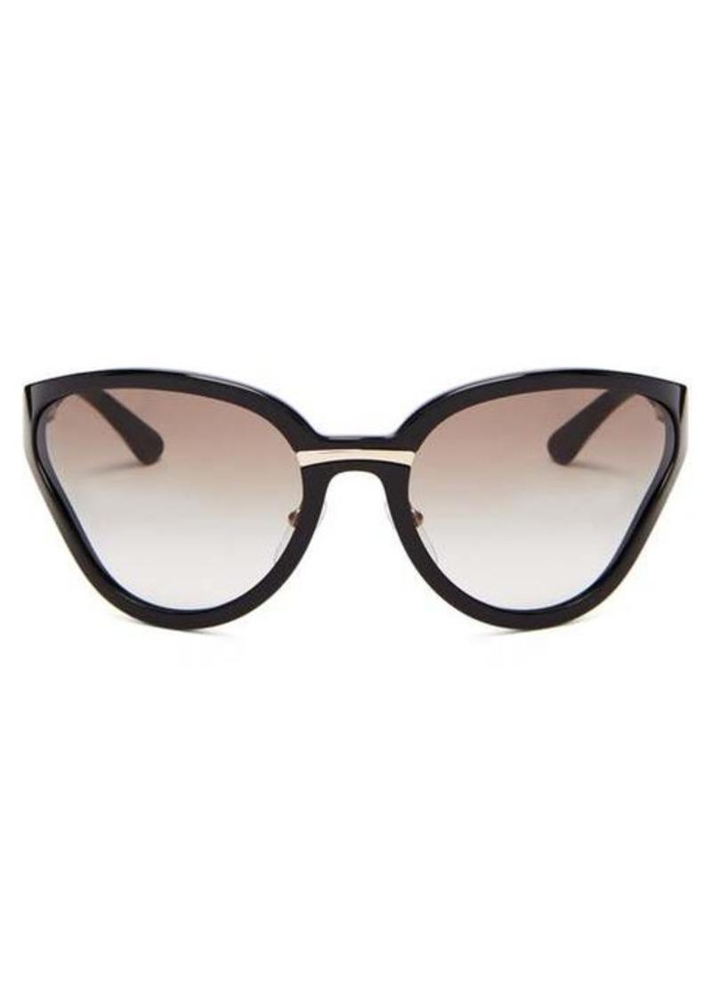 Prada Eyewear Logo-print butterfly acetate sunglasses