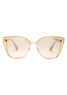 Prada Eyewear Square-frame acetate sunglasses