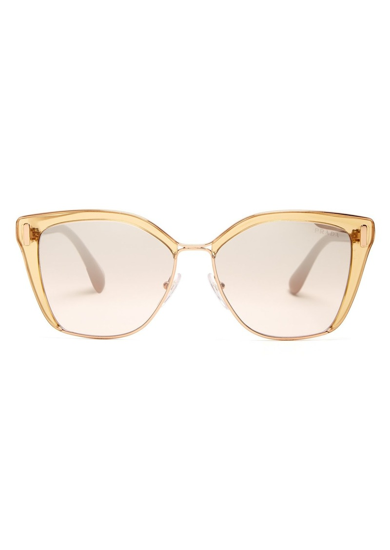 6d086b3005a Prada Prada Eyewear Square-frame acetate sunglasses