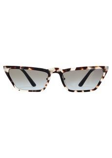 Prada Eyewear Ultravox rectangular acetate sunglasses