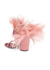 376a54b137b Prada Prada Feather Block Heel Sandal (Women)
