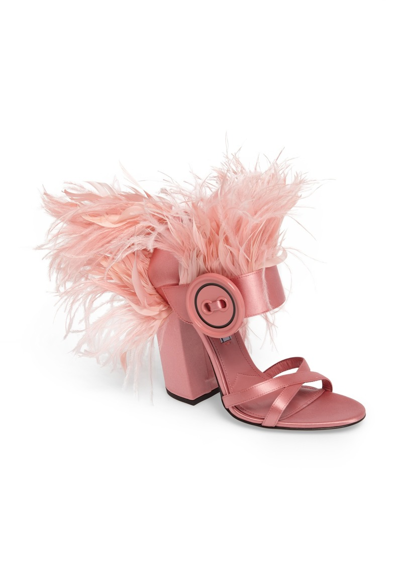 e11566c2 Feather Block Heel Sandal (Women)