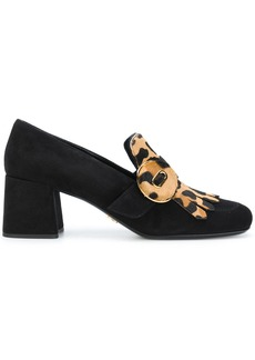 Prada fringed loafers