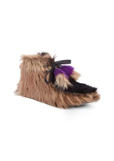 Prada Genuine Shearling and Goat Hair Bootie (Women)