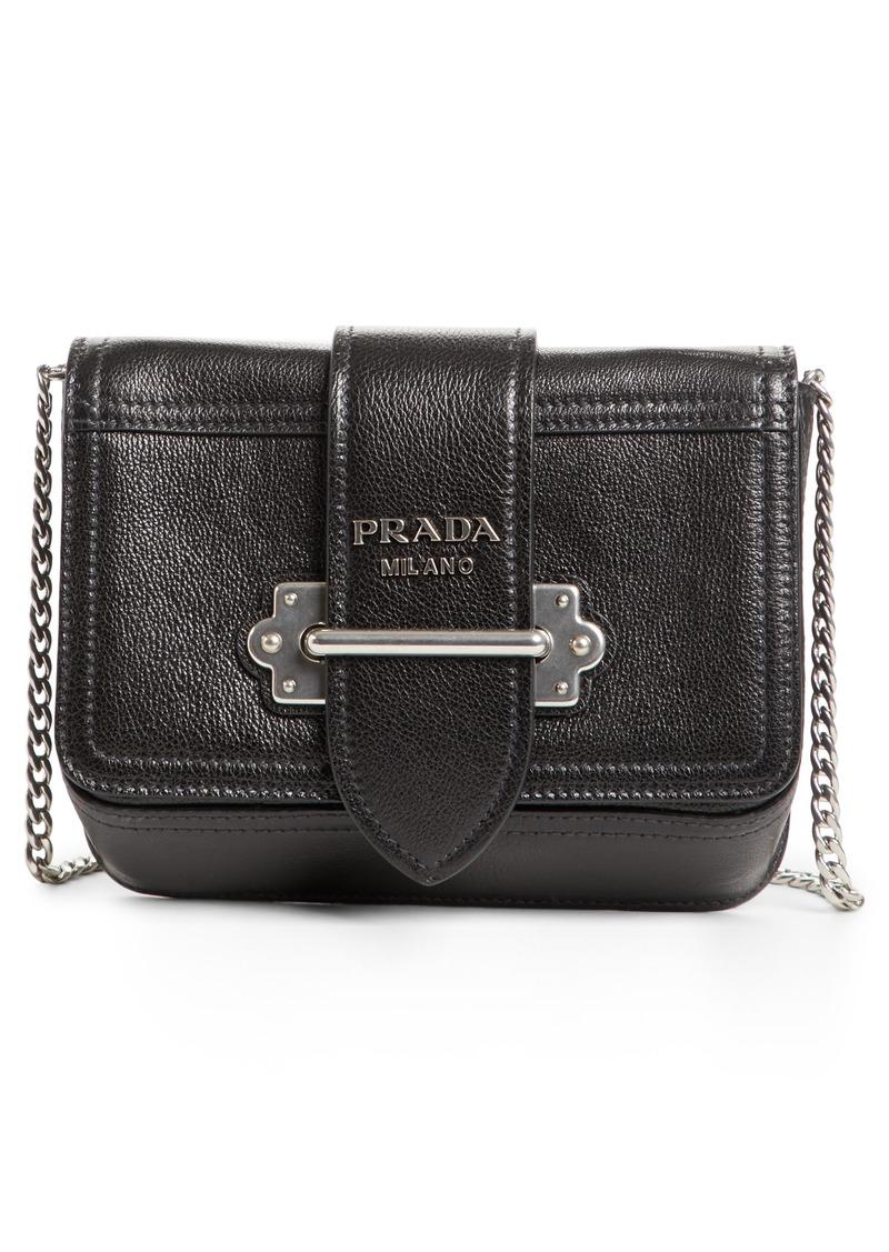 ac6da80f8d Prada Prada Glace Cahier Calfskin Leather Convertible Belt Bag ...