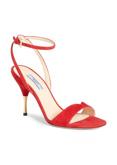 Prada Golden Heel Sandal (Women)