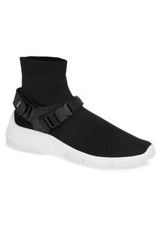 Prada Harnessed Sock Sneaker (Men)