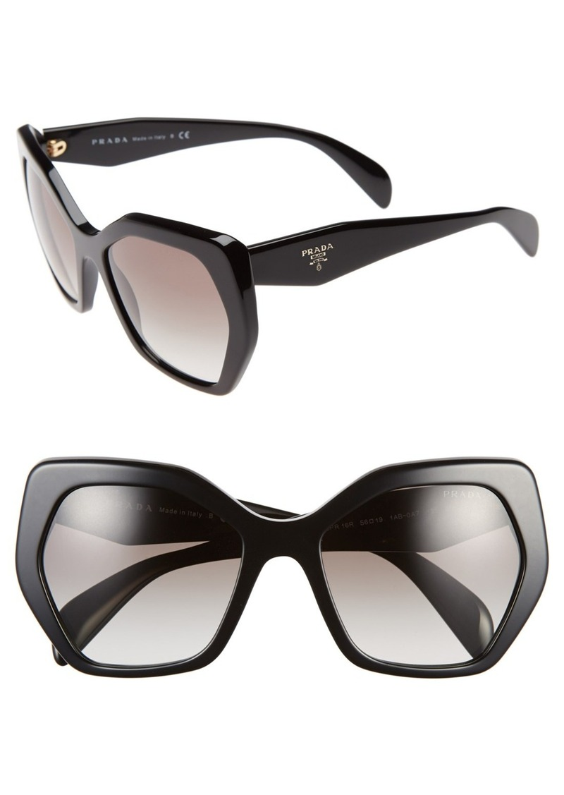 Prada Heritage 56mm Sunglasses