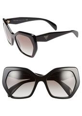 Prada Heritage 56mm Sunglasses