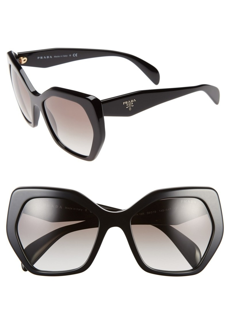 Prada Heritage 56mm Sunglasses (Nordstrom Exclusive)