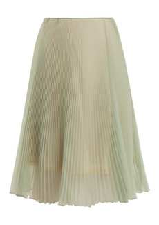 Prada High-rise pleated skirt