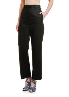 Prada High-Rise Straight-Leg Pants
