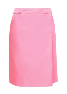 Prada High-Rise Wrap Skirt