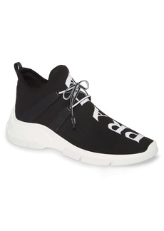 Prada High Top Knit Sneaker (Men)