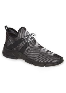 Prada High Top Knit Sneaker (Men)