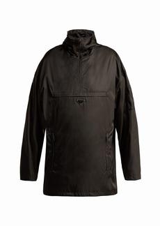 Prada Hooded nylon rain jacket