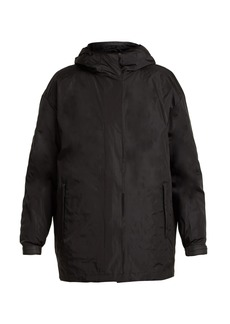 Prada Hooded padded double-layered jacket