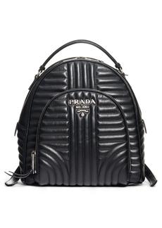 Prada Impunture Leather Backpack