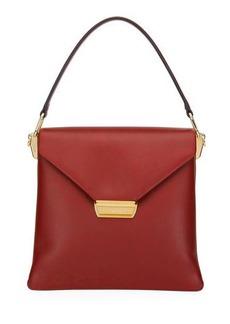 Prada Ingrid Smooth Leather Top-Handle Shoulder Bag