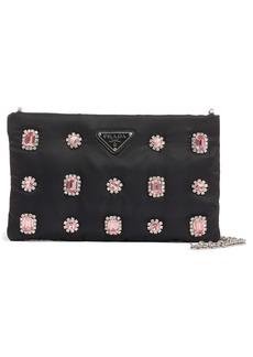 Prada Jewel Embellished Shoulder Bag
