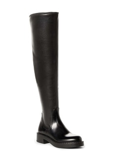 Prada Knee High Leather Boot (Women)