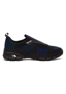 Prada Knitted slip-on trainers